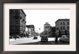 Street Scene, View of Commerical Hotel - Yakima, WA Prints