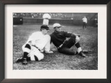 John McGraw, NY Giants, Fred Tenney, Boston Rustlers, Baseball Photo - New York, NY Art