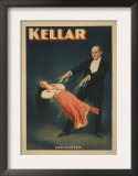 Kellar Levitation Magic Poster No.2 Print