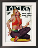Film Fun Magazine Cover Print