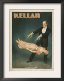 Kellar Levitation Magic Poster No.1 Print