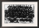 Greek Infantry Officers Photograph - Greece Prints
