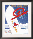 Stowe, Vermont - Sweeping S Prints