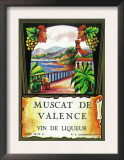 Muscat De Valence Wine Label - Europe Prints