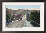 Viaduct View of Center Street - Pocatello, ID Posters