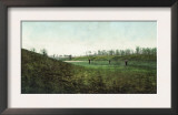 View of Golfers Playing at Inverness Club - Toledo, OH Art