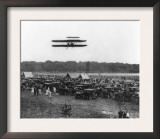 Orville Wright and Lahm in Record Flight Photograph - Fort Meyer, VA Prints
