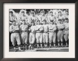 NY Giants Team, Baseball Photo No.1 - New York, NY Posters