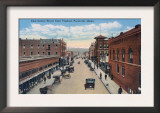 Viaduct View of East Center Street - Pocatello, ID Posters