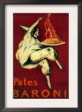 Pates Baroni Vintage Poster - Europe Prints