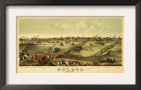 Toledo, Ohio - Panoramic Map Posters