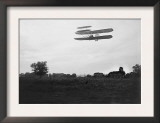Orville Wright Flies High in the Sky Photograph - Dayton, OH Posters