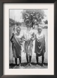 Nandi Warriors in Africa Photograph - Africa Prints
