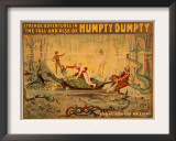 The fall and rise of Humpty Dumpty Theatre Poster Posters