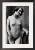 Nude Woman French Art Nouveau Photograph No.12 - France Prints