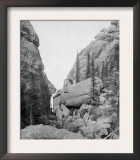 Sunday Picnic at the Gulch near Custer City Photograph - Custer City, SD Posters