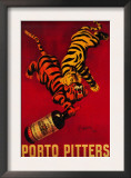 Porto Pitters Vintage Poster - Europe Poster