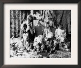 "The ""Wolf dance"" of the Kaviagamutes, Alaska Eskimos Photograph - Alaska Prints"