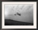 Orville Wright Testing Glider Photograph - North Carolina Art