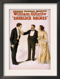 Sherlock Holmes Theatrical Play Poster No.2 Prints