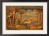 The Arabian Nights - Aladdin's Wonderful Lamp Poster Art