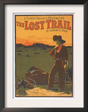 The Lost Trail - Comedy Drama Western Life Poster Posters