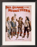 Paul Gilmore in The Musketeers Theatrical Poster Poster