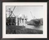 Fremont Bridge Construction Photograph - Seattle, WA Prints