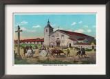 Mission Santa Clara de Asis - Santa Clara, CA Prints
