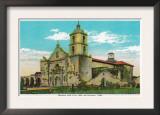 Mission San Luis, Rey de Francia - Oceanside, CA Print