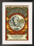 Mont Dore Wine Label - Europe Posters