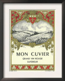 Mon Cuvier Wine Label - Europe Art