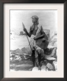 Sudan Warrior with Spear Photograph - Sudan Prints