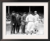 Umps and Managers, Giants and Red Sox World Series, Baseball Photo - New York, NY Prints