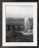 A Flowing Well in the Judith Basin - Montana Posters
