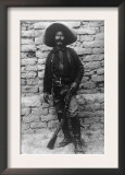 Volunteer Mexican Soldier with Rifle Photograph - Mexico Art