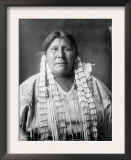 Arikara Woman Indian Native American Curtis Photograph Posters