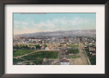 Aerial View of the City - Pocatello, ID Art
