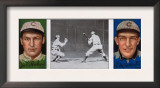 Chicago, IL, Chicago Cubs, Jas. T. Sheckard, F. M. Schulte, Baseball Card Posters