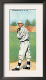 New York City, NY, New York Giants, Christy Mathewson, Baseball Card Poster