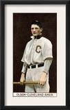 Cleveland, OH, Cleveland Naps, Ivan Olson, Baseball Card Posters