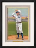 Brooklyn, NY, Brooklyn Dodgers, George Bell, Baseball Card Poster