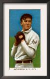 New York City, NY, New York Giants, Christy Mathewson, Baseball Card Posters