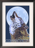 Connecticut - Howling Wolf Prints