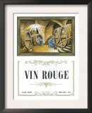 Vin Rouge Wine Label - Europe Prints