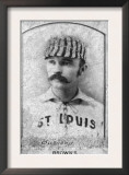 St. Louis, MO, St. Louis Browns, Doc Bushong, Baseball Card Prints
