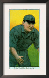 Cleveland, OH, Cleveland Naps, J. J. Clarke, Baseball Card Prints