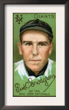 New York City, NY, New York Giants, Frederick C. Snodgrass, Baseball Card Prints