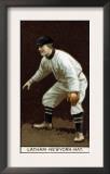 New York City, NY, New York Giants, W. Arlington Latham, Baseball Card Art