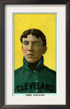 Cleveland, OH, Cleveland Naps, Addie Joss, Baseball Card Prints